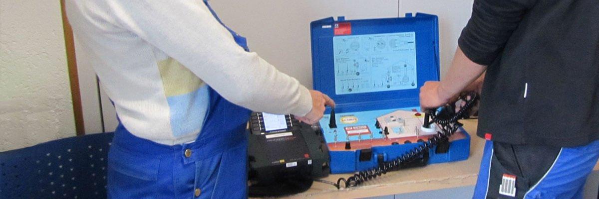 Prüf- und Messdienstleistung Safety-Check