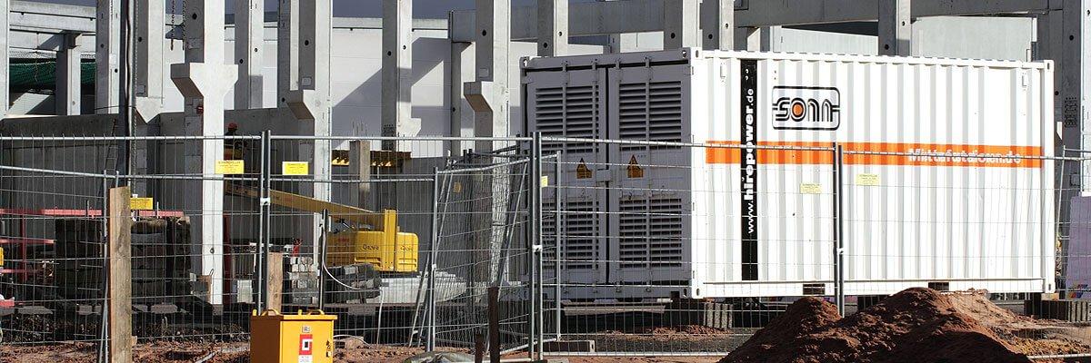 Rental transformer stations